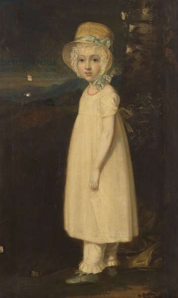 Portrait of a Young Girl (Little Mary) c.1810-15 (oil on canvas)
