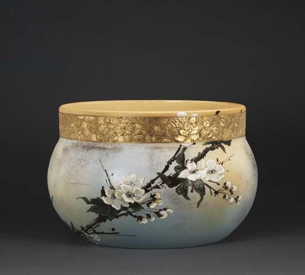 Jardiniere, 1885 (stoneware (dull glaze line))