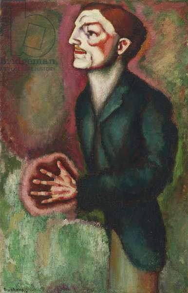 Portrait of Dr. Dumouchel, 1910 (oil on canvas)