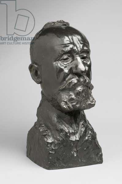 Pierre Puvis de Chavannes, modeled 1890, cast by Alexis Rudier (1874-1952) 1926 (bronze)