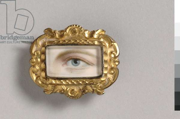 Portrait of a Left Eye, c.1800 (w/c on ivory)
