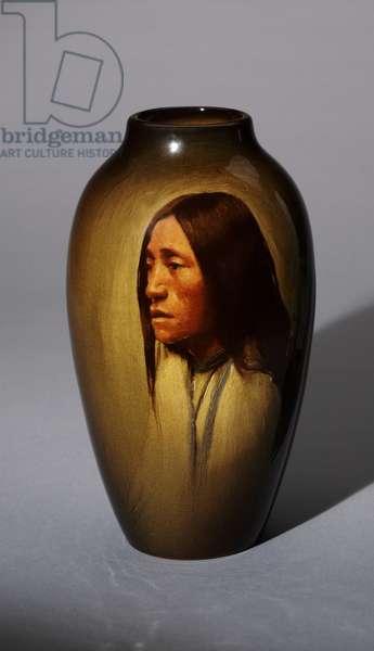 Vase, 1900 (stoneware (standard glaze line))