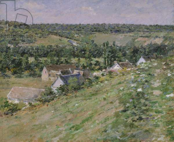 Giverny, c.1888 (oil on canvas)