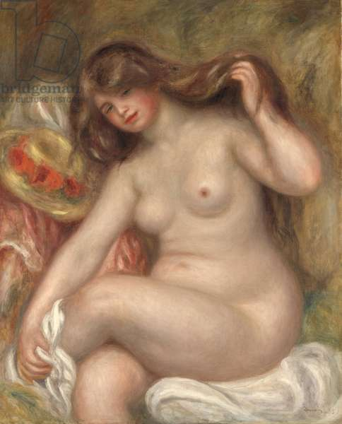 Large Bather, 1905 (oil on canvas)