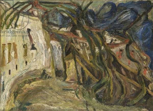 Landscape, Céret, 1922 (oil on canvas)