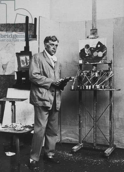 Portrait of Georges Braque, 1931 (gelatin silver print)