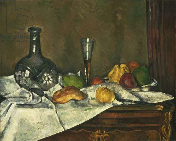 Still Life with a Dessert, 1877 or 1879 (oil on canvas)