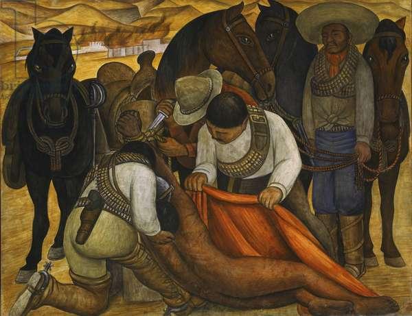 Liberation of the Peon, 1931 (fresco)