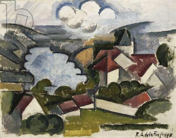 Landscape, 1912 (oil on canvas)