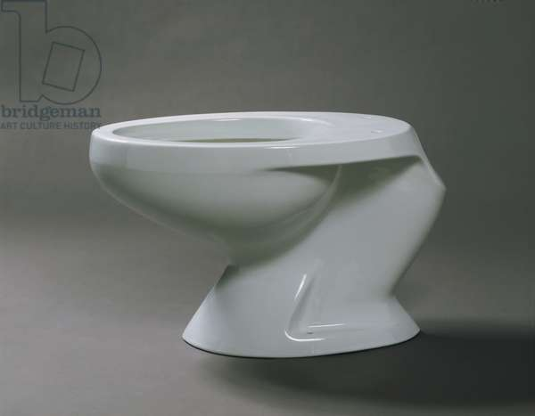Toilet, designed 1953 (porcelain)