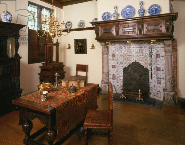 Room from Het Scheepje (The Little Ship) early 17th century (photo)