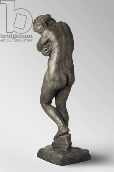 Eve, modeled 1881, cast by Alexis Rudier (1874-1952) in 1925 (bronze)