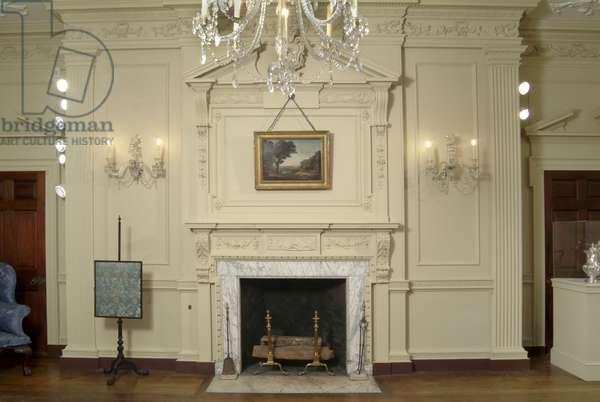 Salon, Powel House, Philadelphia (photo)