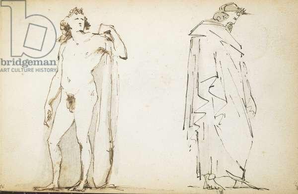 The Mastbaum Album, c.1860-80 (graphite, ink & wash on paper)