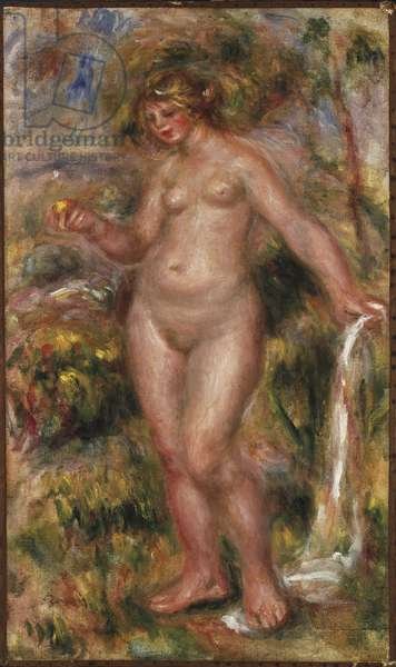 Bather, c.1917-18 (oil on canvas)