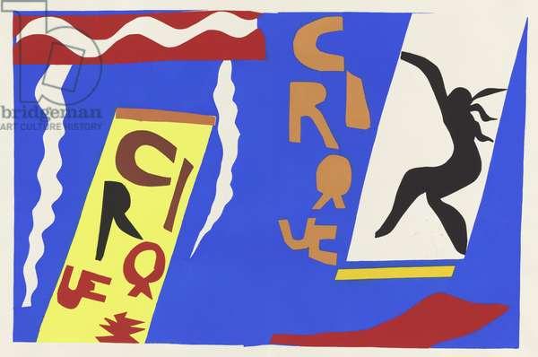 The Circus, from the portfolio 'Jazz', 1947 (gouache on paper)