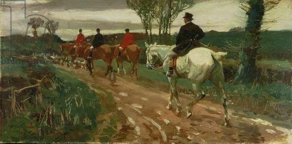 Homeward Bound, 1902 (oil on canvas)