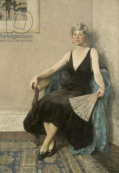 Portrait of Brenda Biddle, 1926 (oil on canvas)