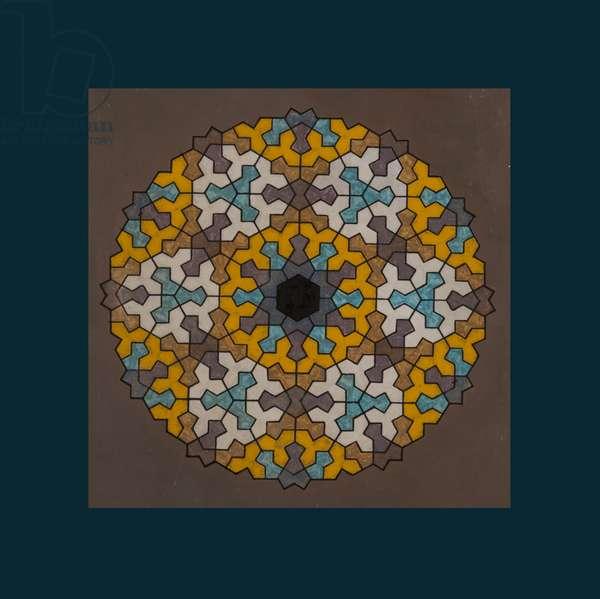 Super Symmetry, 2006 (acrylic on board)