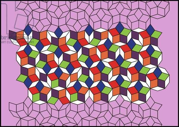 McClure's Matrix, 2007 (acrylic on paper)