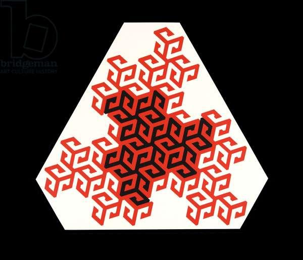 Mandala, 1986 (original serigraph)