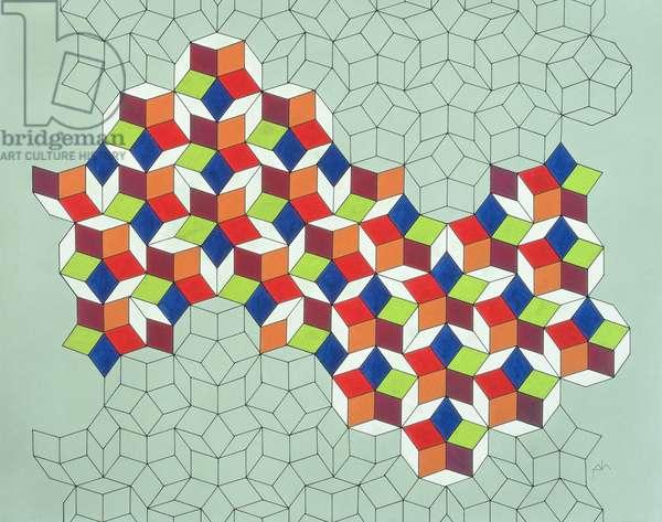 Penrose's Conundrum, 1988 (tempera on paper)