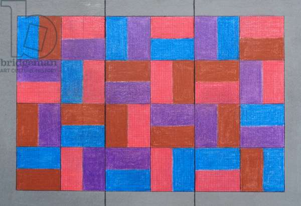 TILED TRIPTYCH. 20-20