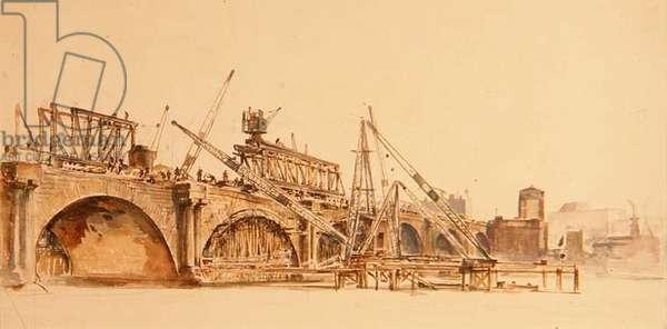 The Demolition of Westminster Bridge