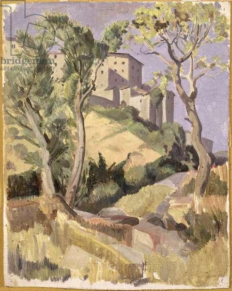 Tuscan Scene