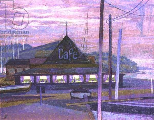 Harbour Cafe at Night