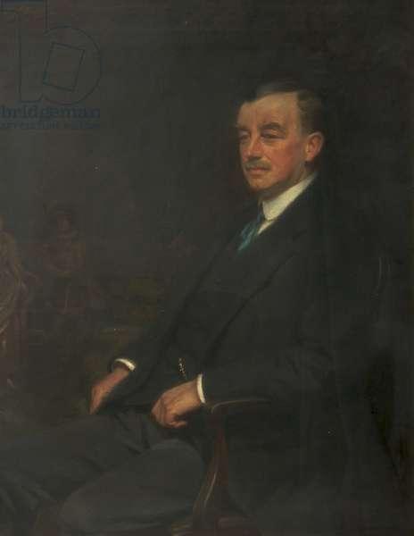 Arthur Henderson, 1917 (oil on canvas)