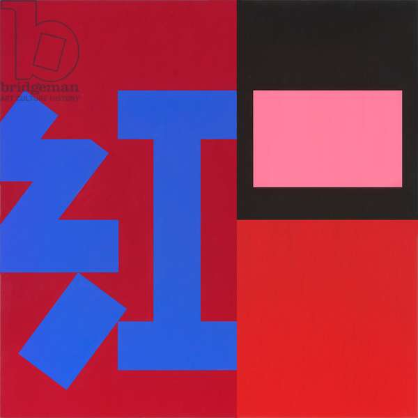 Hong - Red, 2006 (acrylic (Liquitex and Golden) on linen)