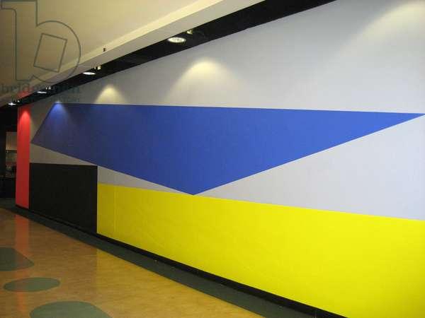 Wall Drawing 3, 2011 (acrylic on wall)
