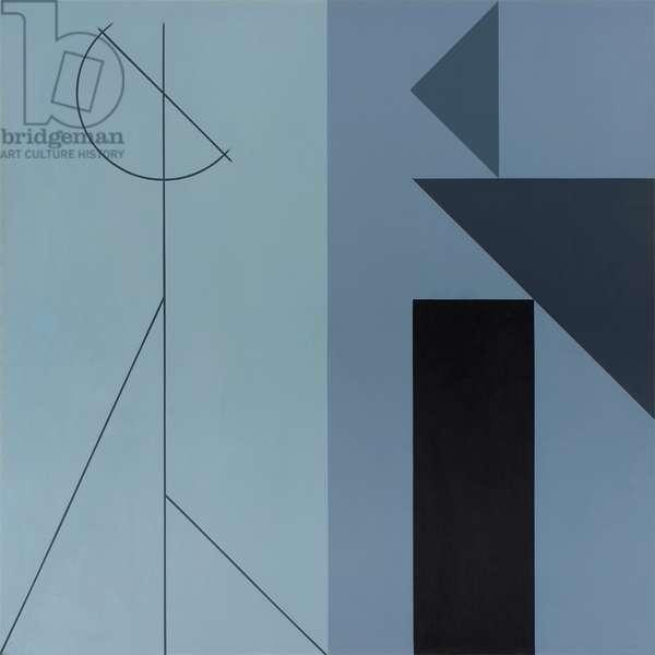 The Studio II, 1979 (acrylic (aquatec) on linen)