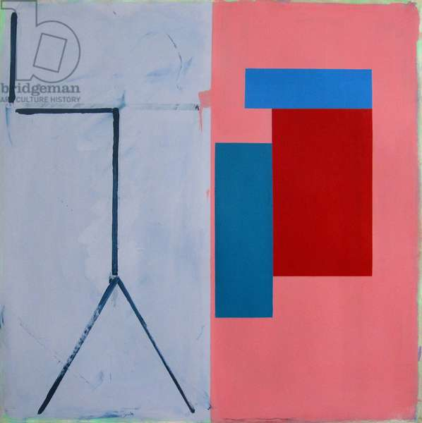 Untitled no.155, 1975 (acrylic (aquatec and Cryla) on paper (Canson & Montgolphier))