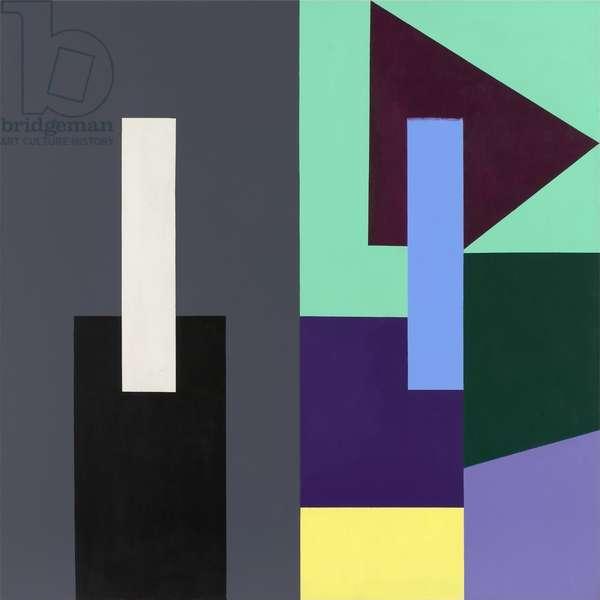Echo, 1982 (acrylic (Liquitex and aquatec) on linen)