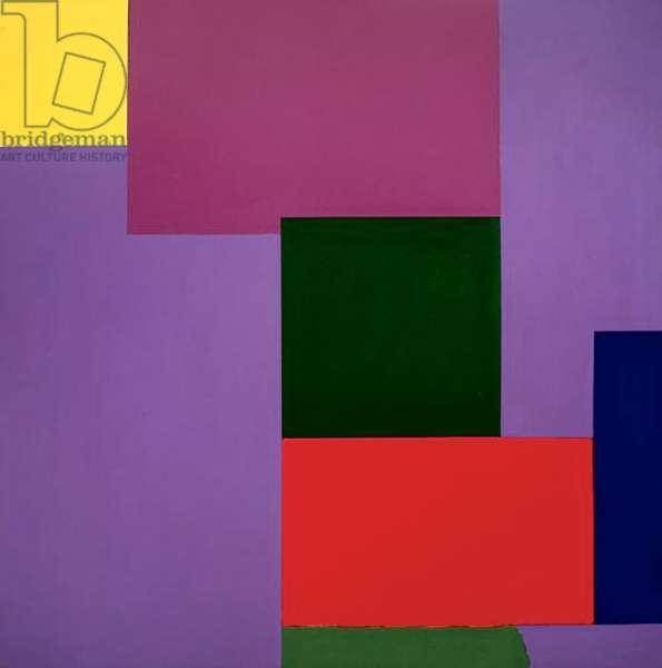 Untitled no.50, 1965 (acrylic (Liquitex) on cotton duck)