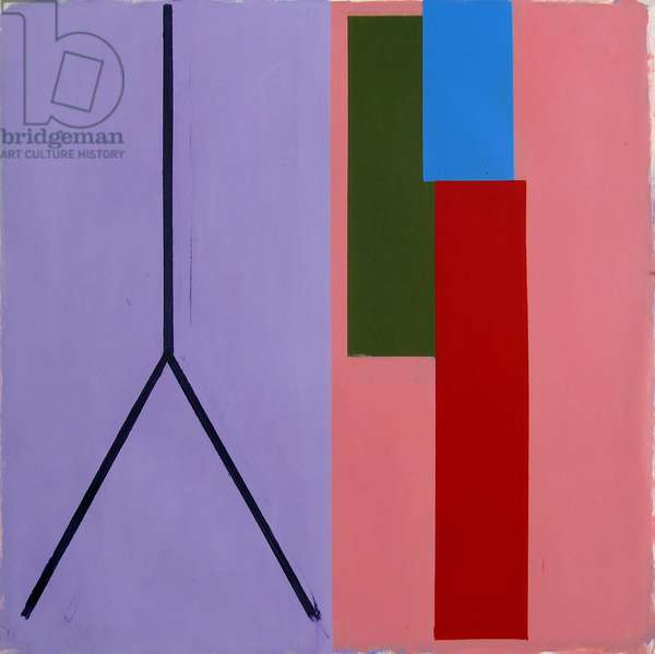Untitled no.157, 1975 (acrylic (aquatec and Cryla) on paper (Canson & Montgolphier))