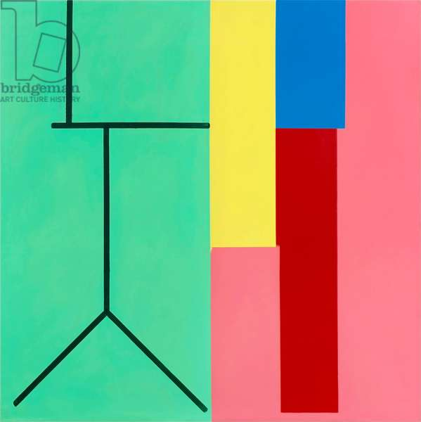 Untitled no.160, 1975 (acrylic (aquatec and Cryla) on linen)