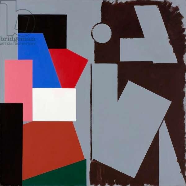 Modus Operandi II, 1988 (acrylic on linen)