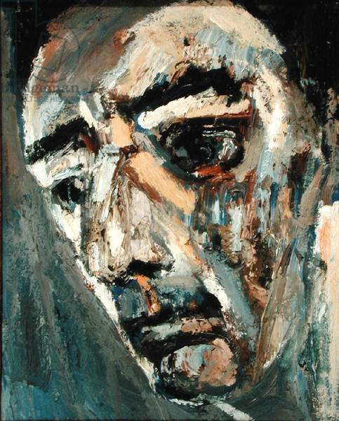 Self Portrait, 1960 (oil on canvas)