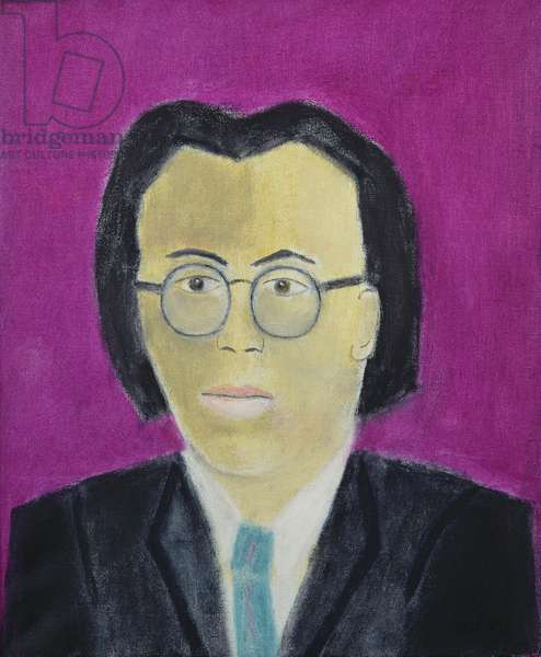 Portrait of Nelson Woo, 1994 (oil on canvas)