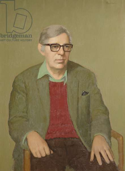 Laurie Lee (1914-97) c.1970s (oil on canvas)