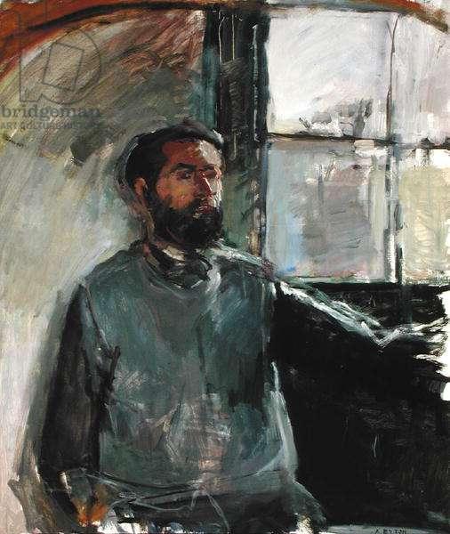 Self Portrait, c.1965 (oil on canvas)