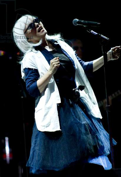 Debbie Harry headlining at Kendal Calling in 2011