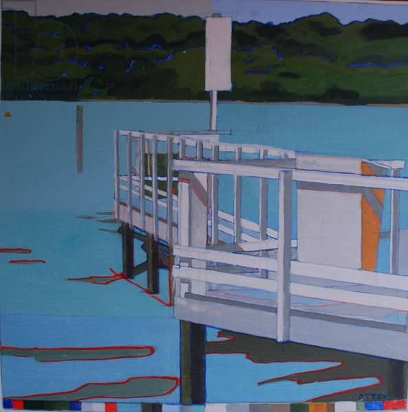 Birdham Jetty, 2013 (oil on board)