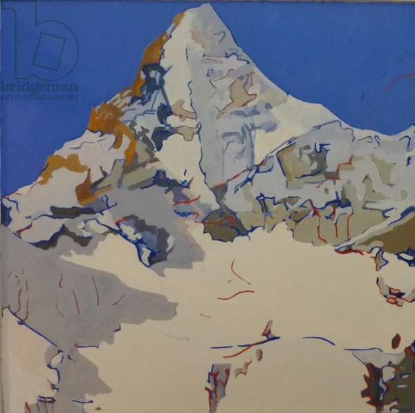 White Mountain, 2010 (oil on canvas)
