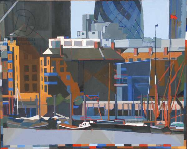 We Love London, 2011 (oil on canvas)