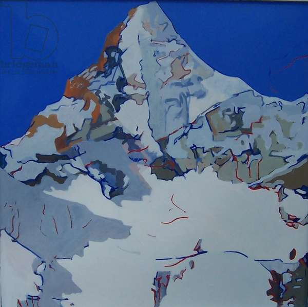 White Mountain, 2009 (oil on canvas)