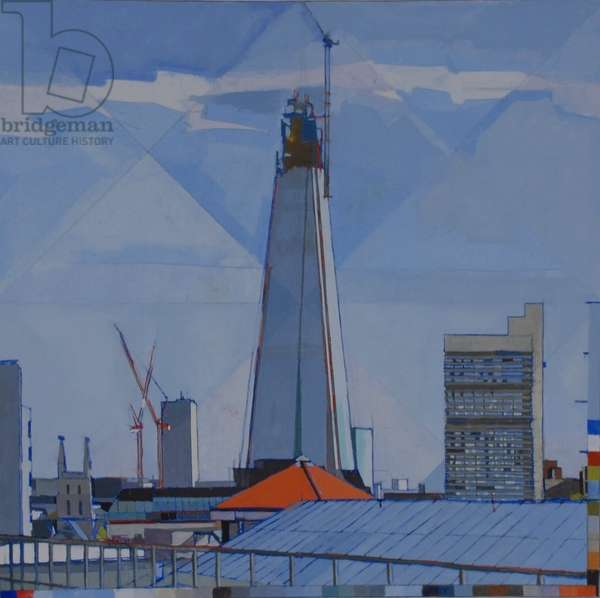 Shard, Southwark, Tate Modern, 2012 (oil on canvas)
